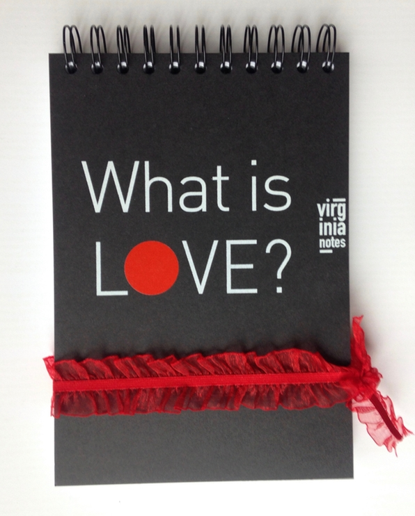 notebook What is love